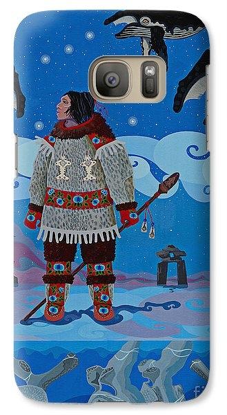 Qikiqtaaluk Whale Dreamer by Chholing Taha