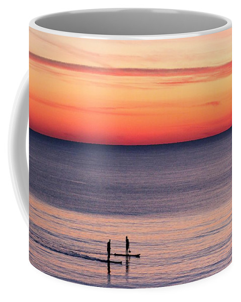 SUP Sunset 1 by Jason Ellis