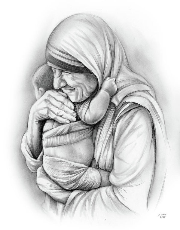 St Mother Teresa by Greg Joens