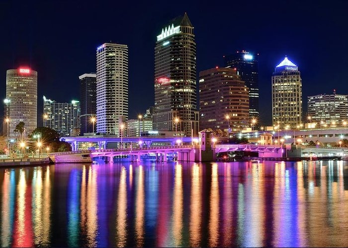 A Tampa Bay Night by Frozen in Time Fine Art Photography