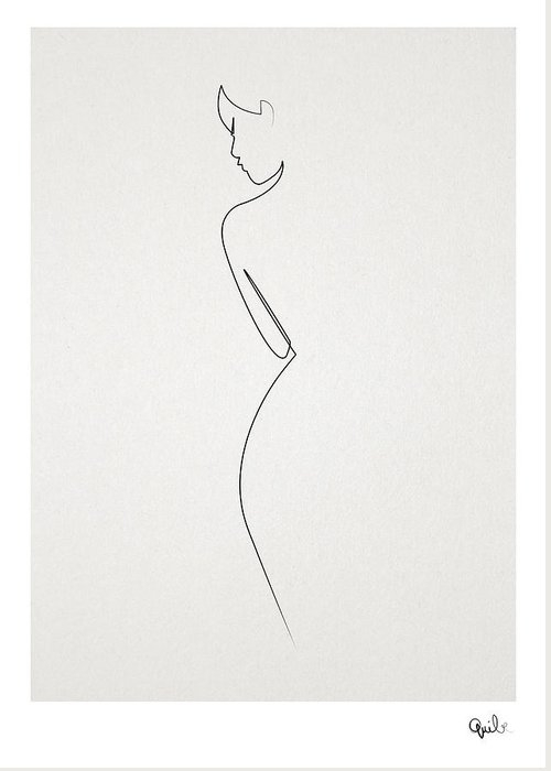 one line nude by Quibe Sarl