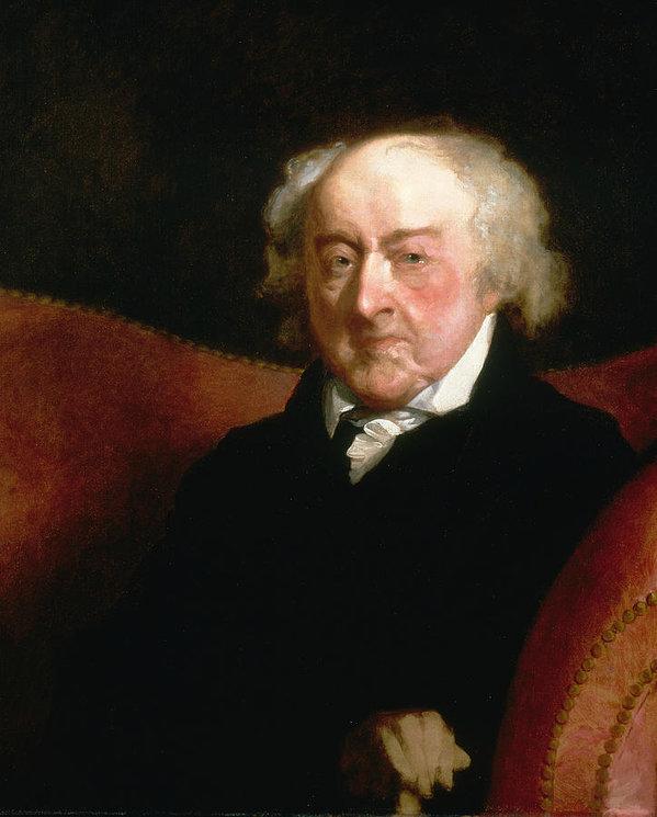 John Adams by Gilbert Stuart