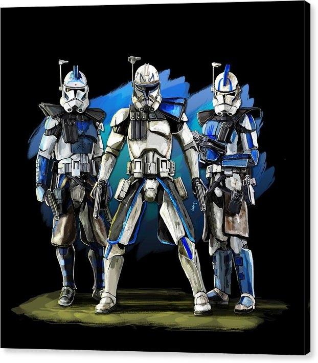 clone wars trinity by Isatonic Lab