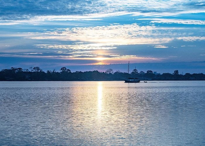Morning on the River by Mary Ann Artz