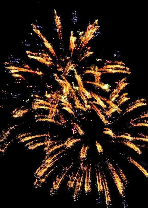 Fireworks Abstract 7 by Mary Ann Artz