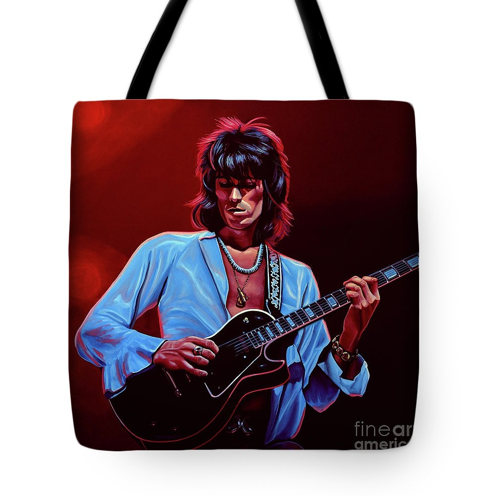 Keith Richards The Riffmaster Tote Bag
