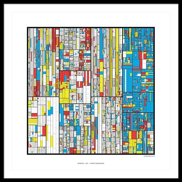 3628 digits of Pi by Martin Krzywinski