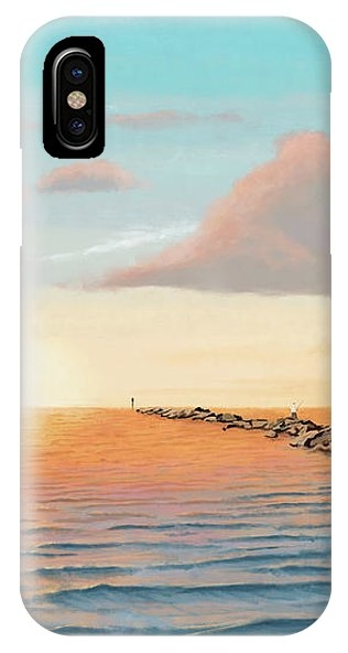 On The Jetties iPhone Case