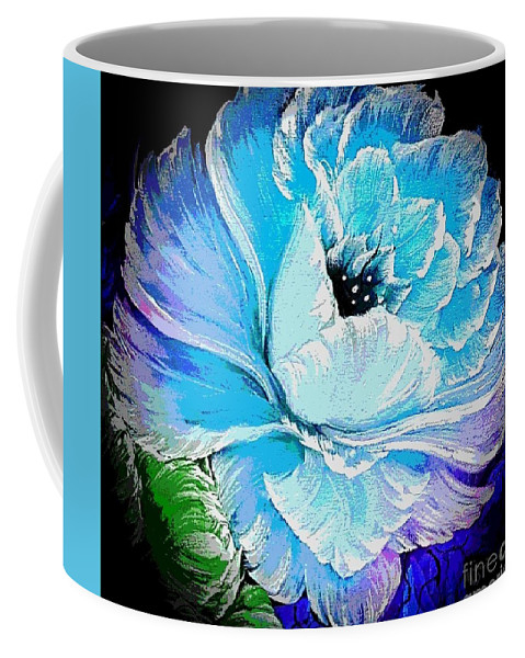 Gorgeous rose blue arty style  by Angela Whitehouse