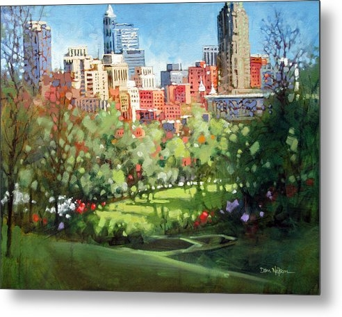 Raleigh Spring Skyline by Dan Nelson