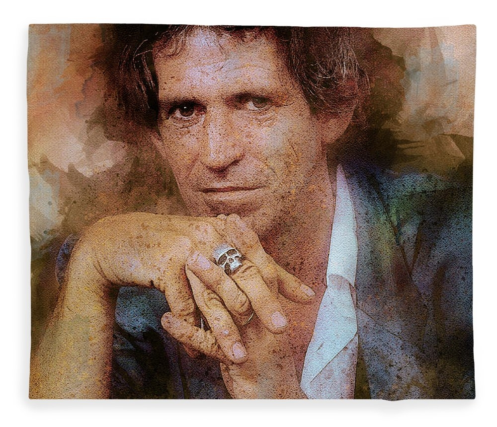 The Rolling Stones. Keith Richards. by Lilia Kosvintseva