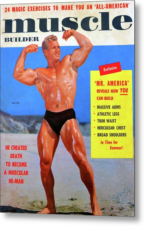 Muscle Builder Mag May 1956 by David Lee Thompson