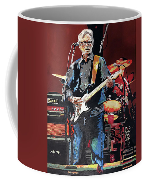 Eric Clapton by Larry L Headley
