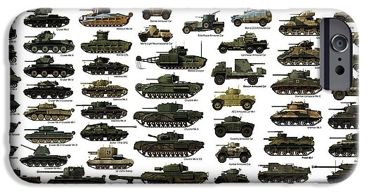 WW2 British Tanks by The Collectioner