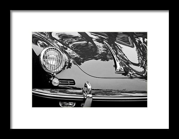 1963 Porsche 356 B Cabriolet Hood Emblem by Jill Reger