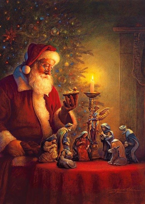 The Spirit of Christmas by Greg Olsen