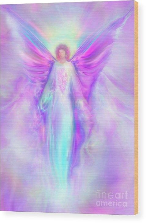 Archangel Raphael by Glenyss Bourne