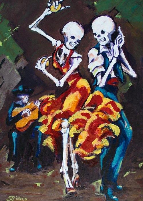 Flamenco Dancers II by Sharon Sieben