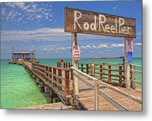 Rod and Reel Pier Anna Maria Island by Jim Dohms