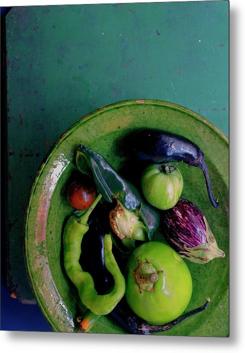 A Plate Of Vegetables by Romulo Yanes