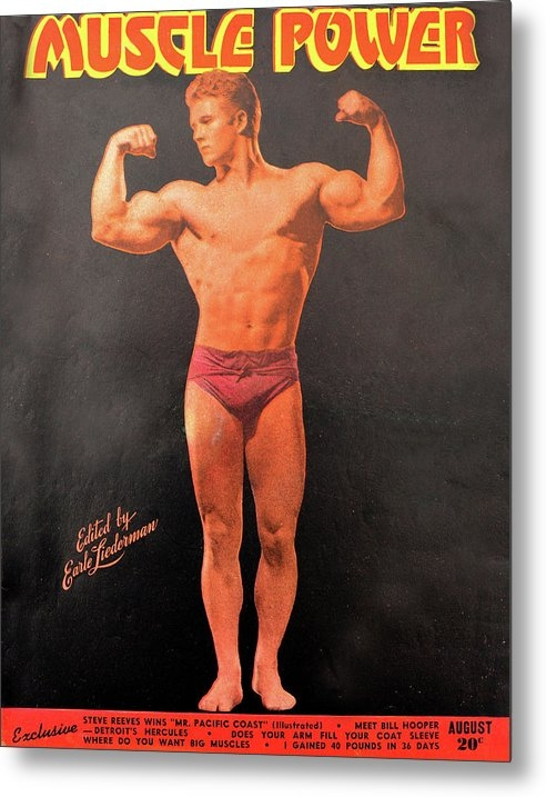 Muscle Power mag Aug 1947 by David Lee Thompson