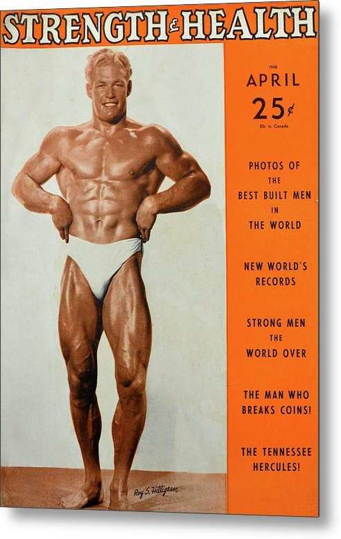 Strength and Health Mag April 1948 by David Lee Thompson