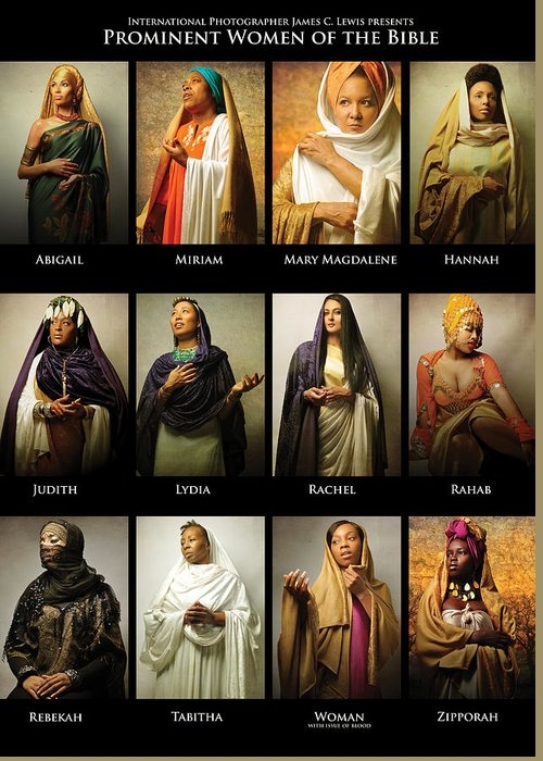 Prominent Women of the Bible by ICONS OF THE BIBLE