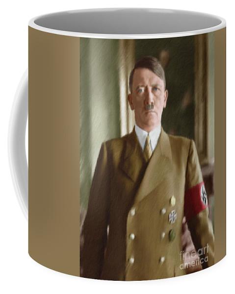 Adolf Hitler, Leaders of WWII series.  by Esoterica Art Agency