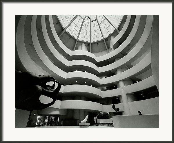 The Guggenheim Museum In New York City by Eveyln Hofer