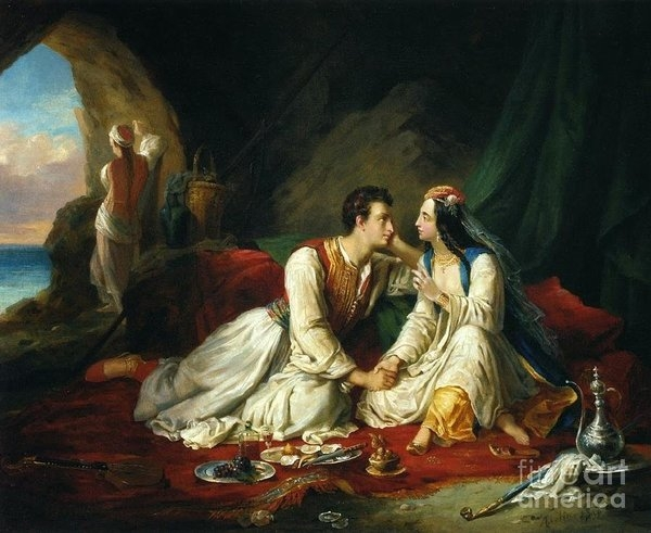 Byron as Don Juan by Celestial Images