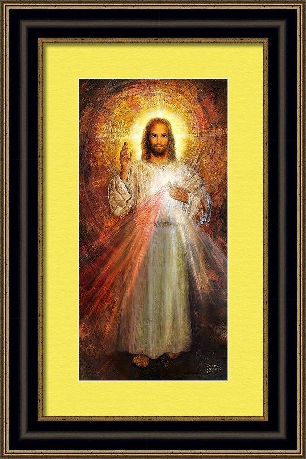 The Divine Mercy,  Jesus I Trust in You - 2 by Terezia Sedlakova
