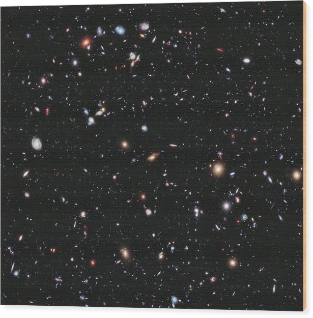 Hubble Extreme Deep Field by Celestial Images