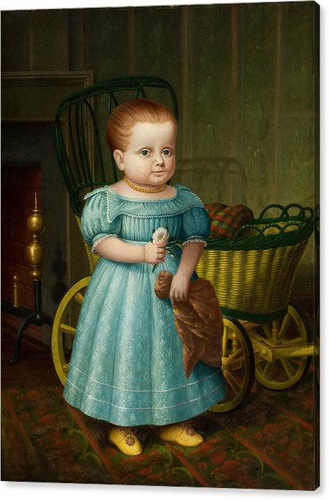 Portrait of Sally Puffer Sanderson by Deacon Robert Peckham