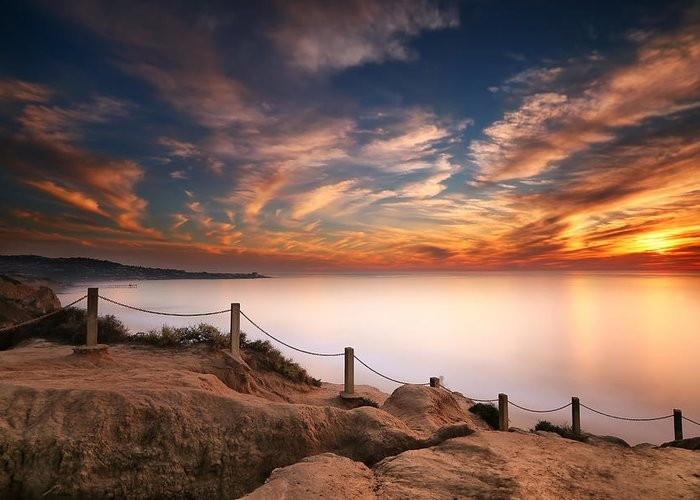 La Jolla Sunset by Larry Marshall