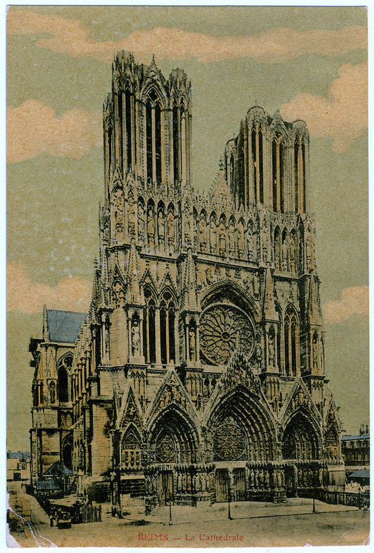 Cathedral Of Notre Dame by Mary Evans Picture Library