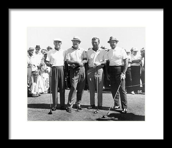 Ben Hogan, Byron Nelson, Sam Snead, Arnold Palmer Golfers by Peter Nowell