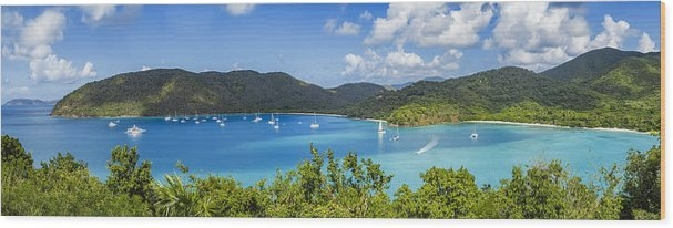 Maho and Francis Bays on St. John, USVI Wood Print