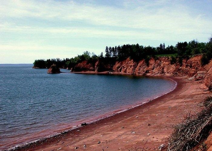 Peaceful Shore by Larry Matthews
