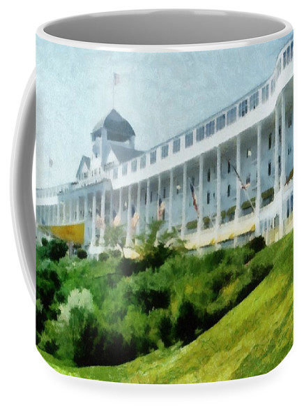 Grand Hotel Mackinac Island ll by Michelle Calkins
