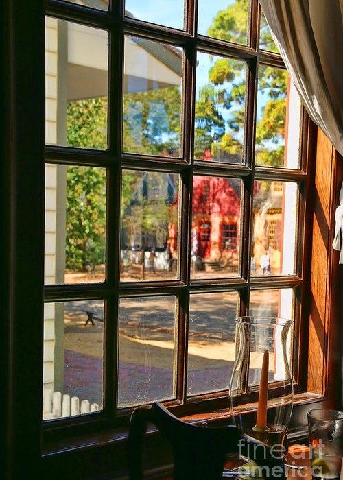 Kings Arms Tavern Window Colonial Williamsburg  4771 by Jack Schultz