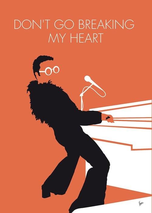 No053 MY ELTON JOHN Minimal Music poster by Chungkong Art