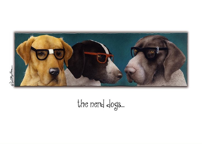the nerd dogs... by Will Bullas