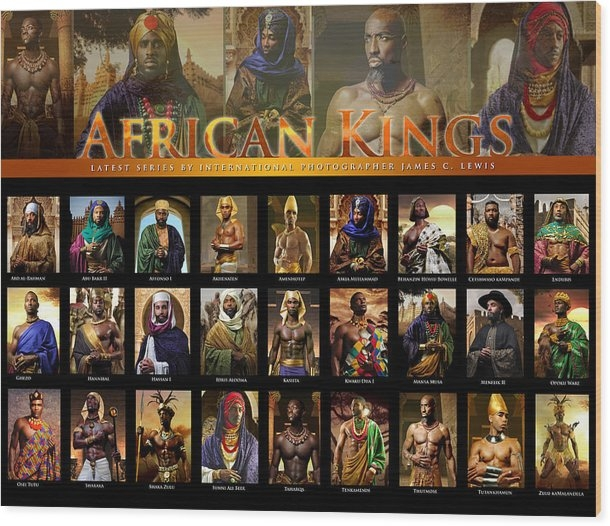 AFRICAN KINGS POSTER by AFRICAN KINGS