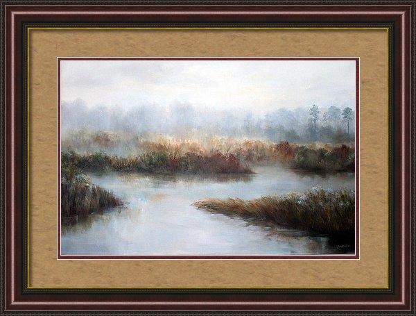 Marsh Magic by Myrna  McGrath