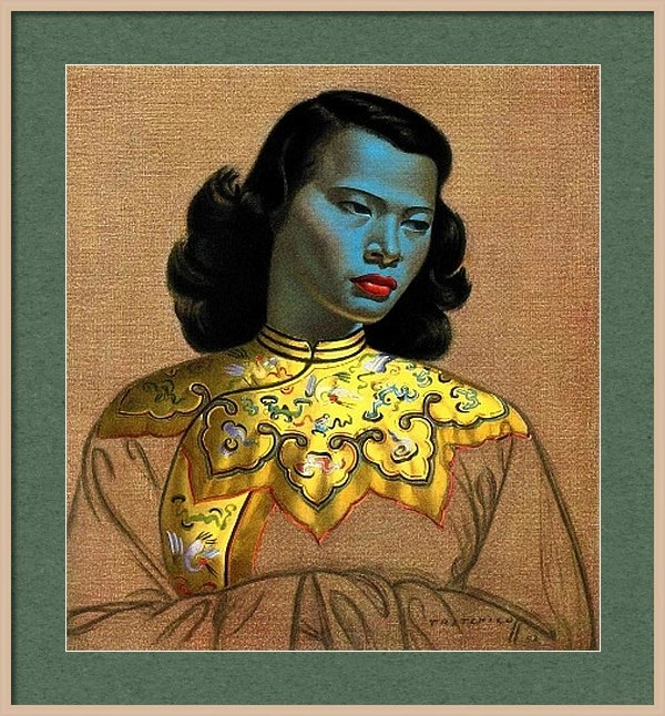 Vladimir Tretchikoff's 'The Chinese Girl, The Green Lady' by Krystal