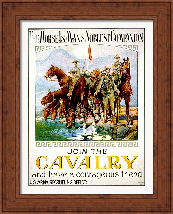 Join the Cavalry 1920 by Padre Art