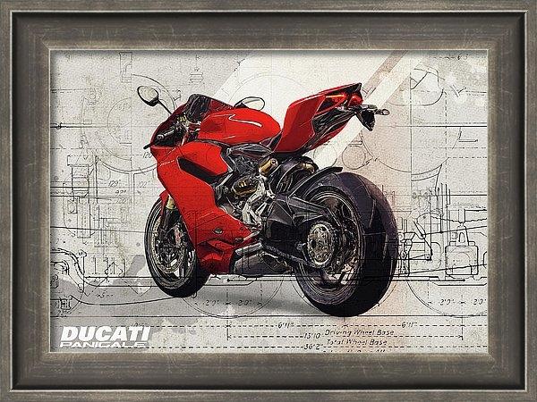 Ducati 1199 Panigale by Yurdaer Bes