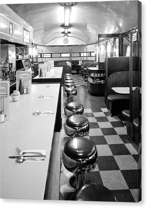 Pawtucket Diner by Mountain Dreams