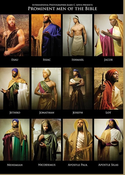 Prominent Men of the Bible by ICONS OF THE BIBLE