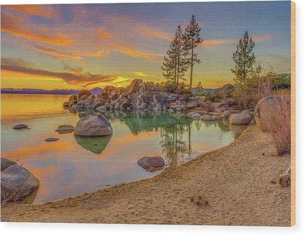 Lake Tahoe Majestic Sunset by Scott McGuire